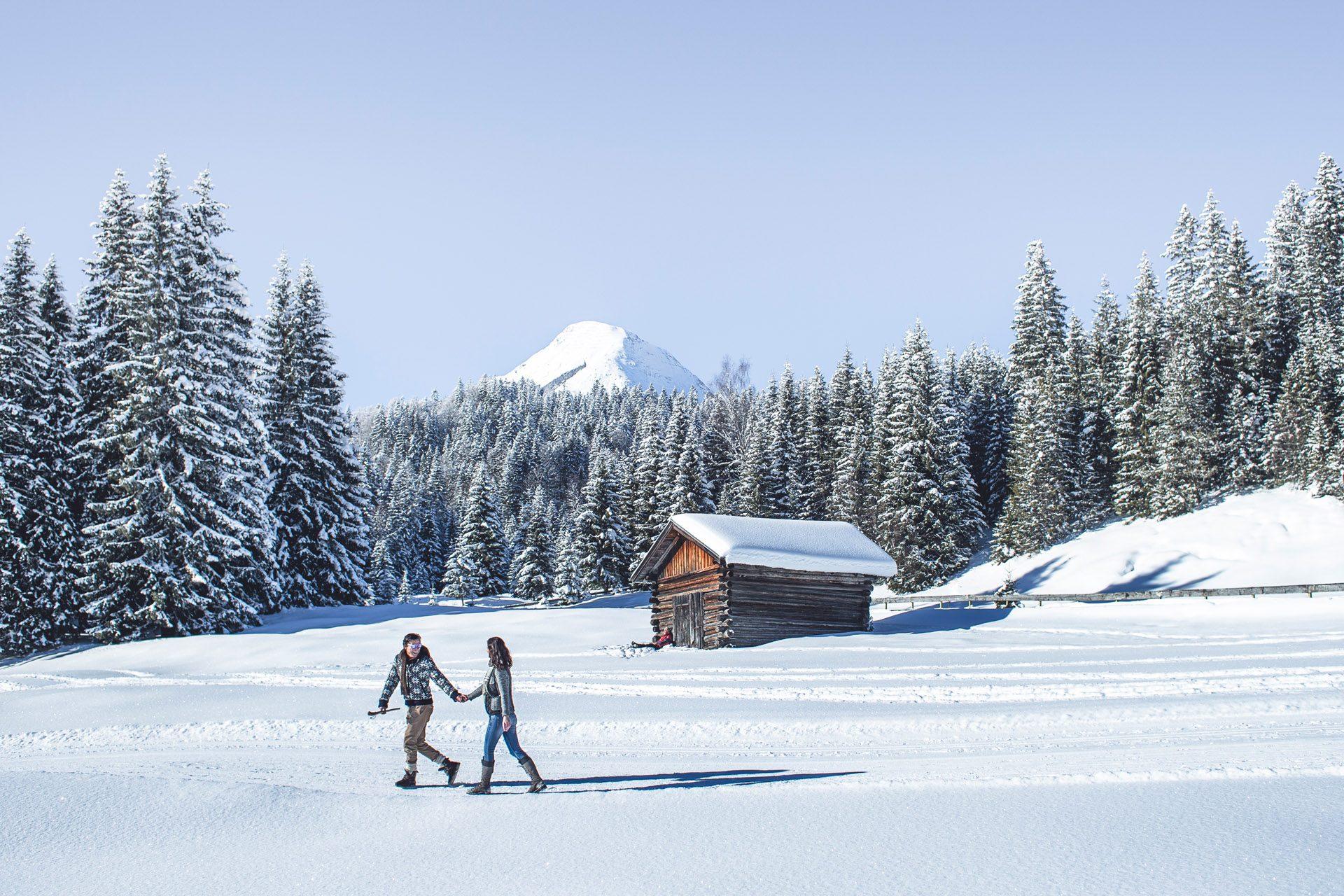 Winterwandern Olympiaregion Seefeld in Tirol