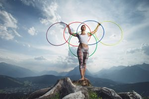Yoga in den Bergen der Olympiaregion Seefeld